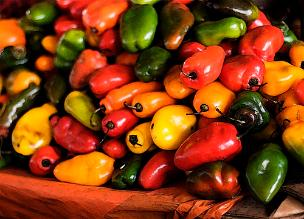 Peruvian Peppers...yeah they're hot!!!